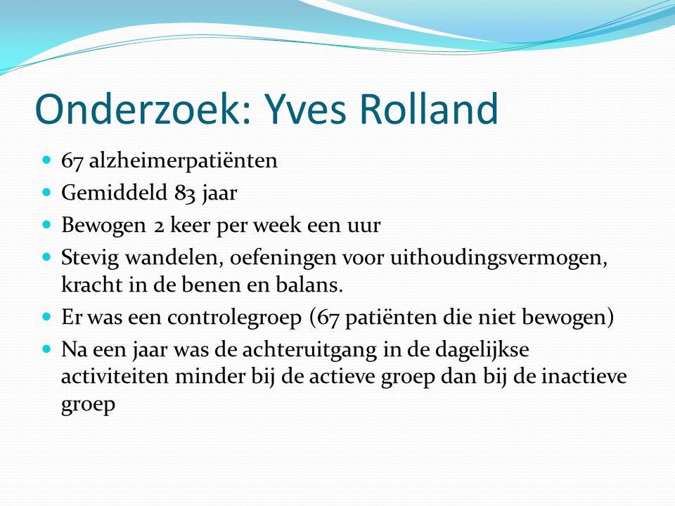 Onderzoek: Yves Rolland