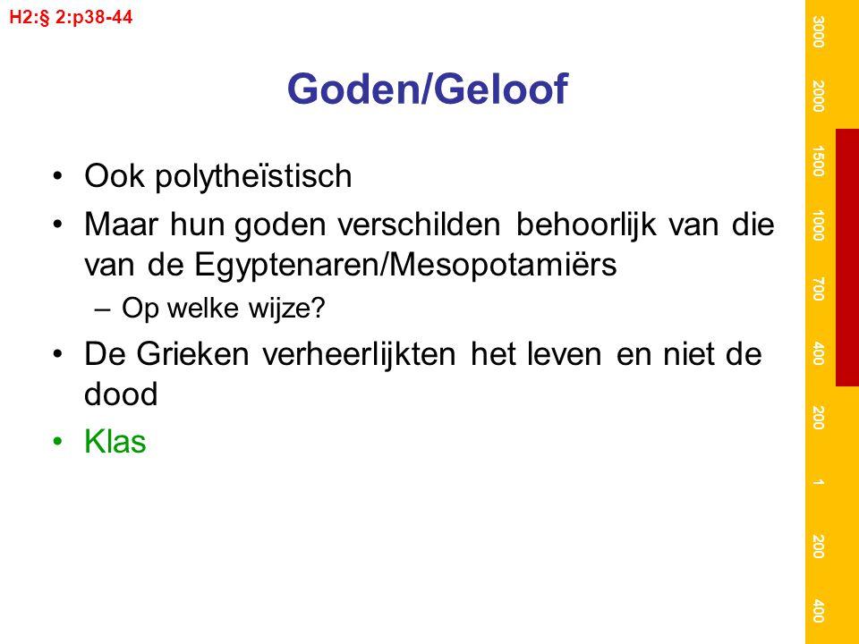 Goden/Geloof Ook polytheïstisch