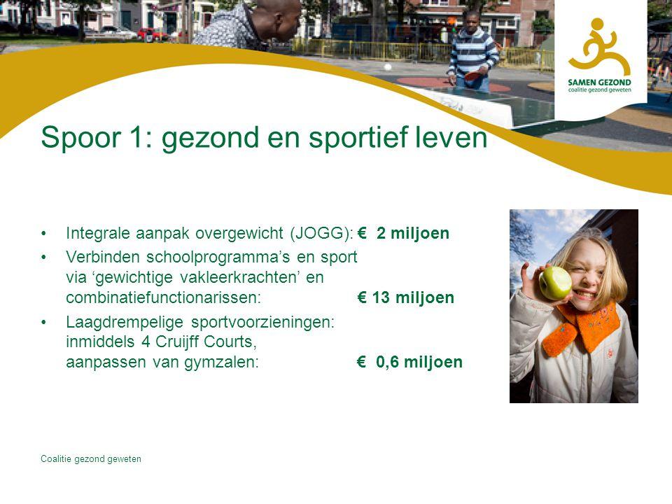 Spoor 1: gezond en sportief leven