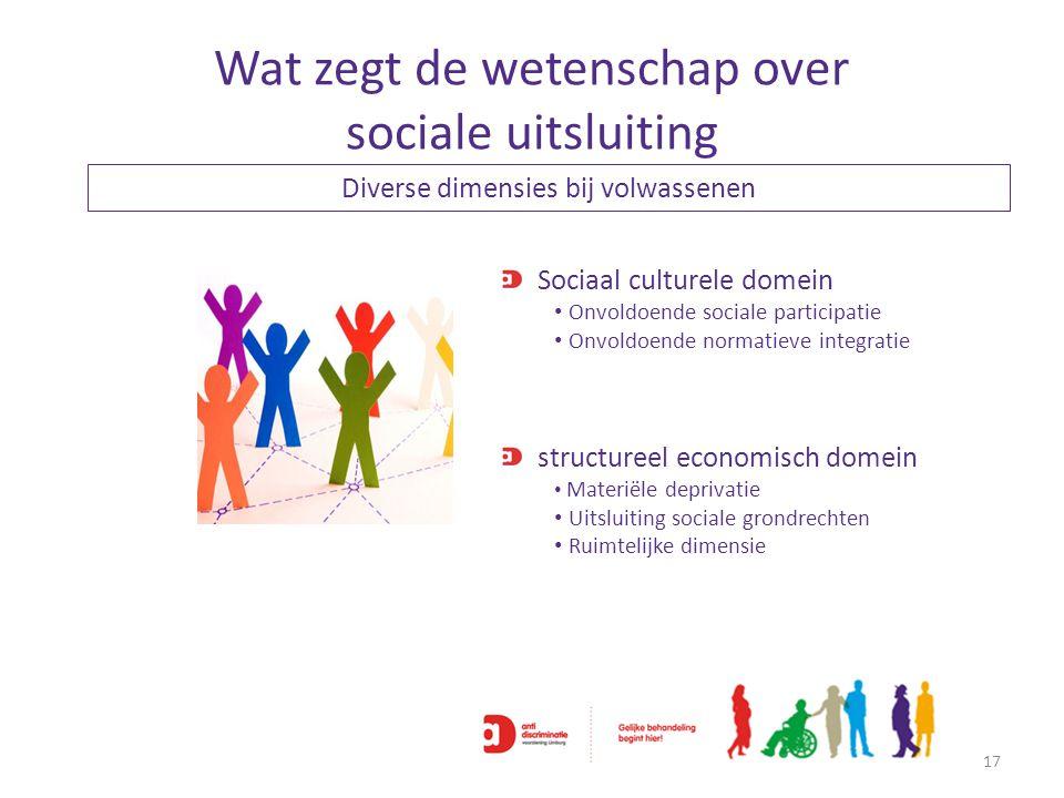 Wat zegt de wetenschap over sociale uitsluiting