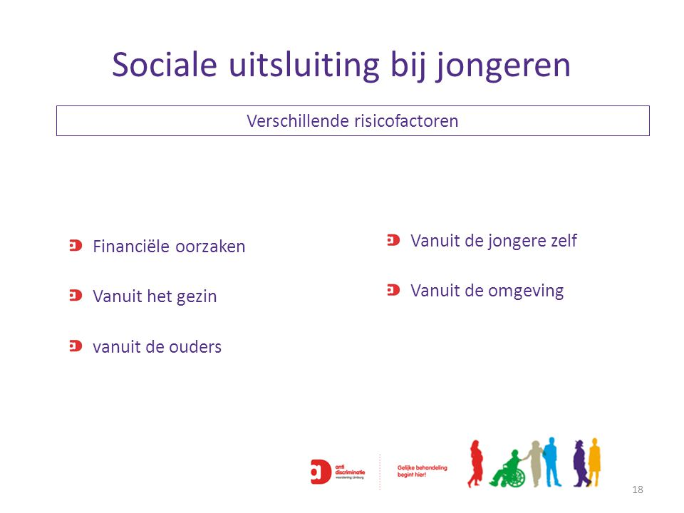 Sociale uitsluiting bij jongeren