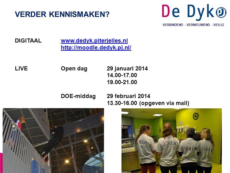 VERDER KENNISMAKEN DIGITAAL www.dedyk.piterjelles.nl