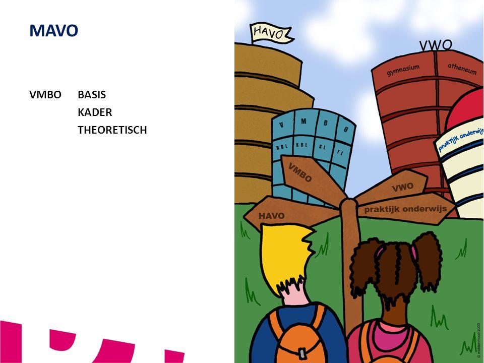 MAVO VERBINDEND - VERNIEUWEND - VEILIG VMBO BASIS KADER THEORETISCH 3
