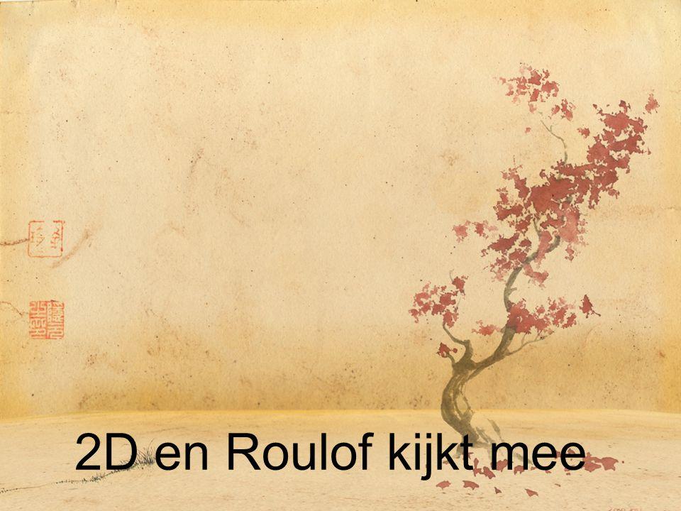 2D en Roulof kijkt mee