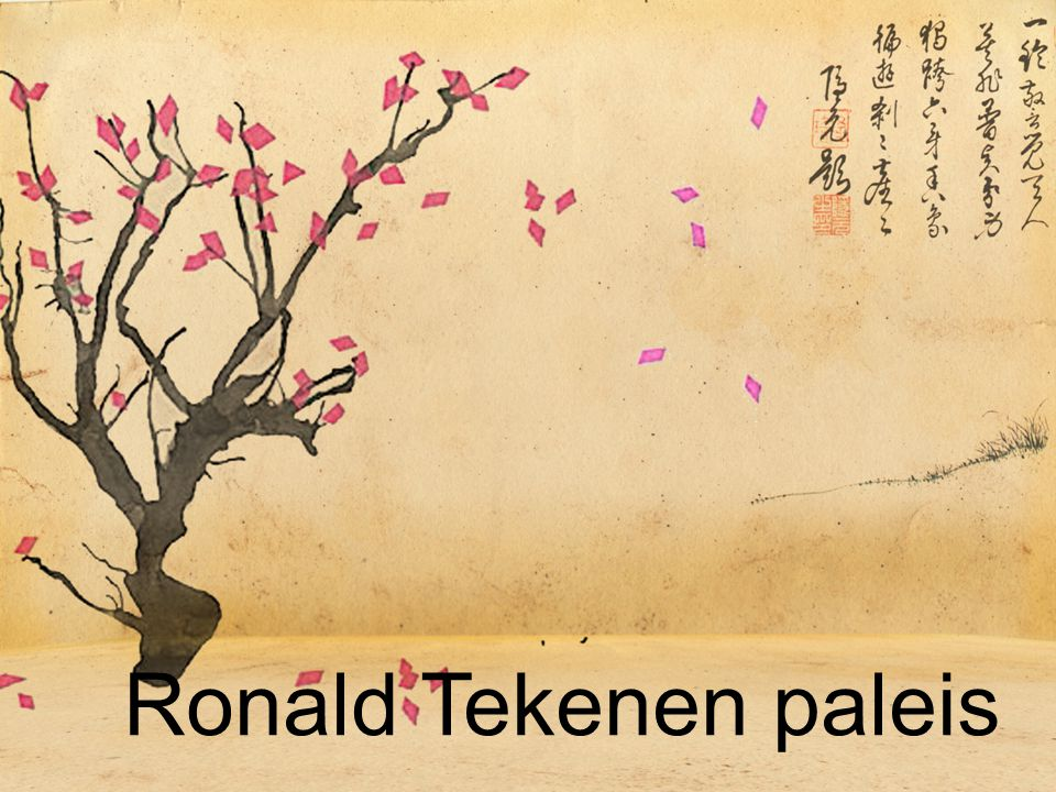 Ronald Tekenen paleis