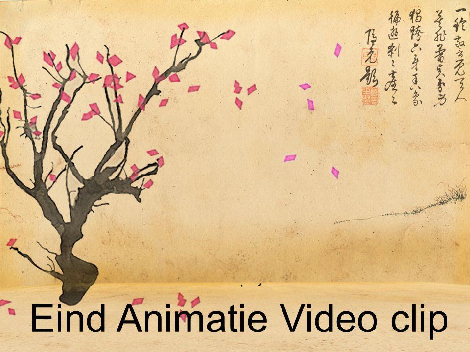 Eind Animatie Video clip