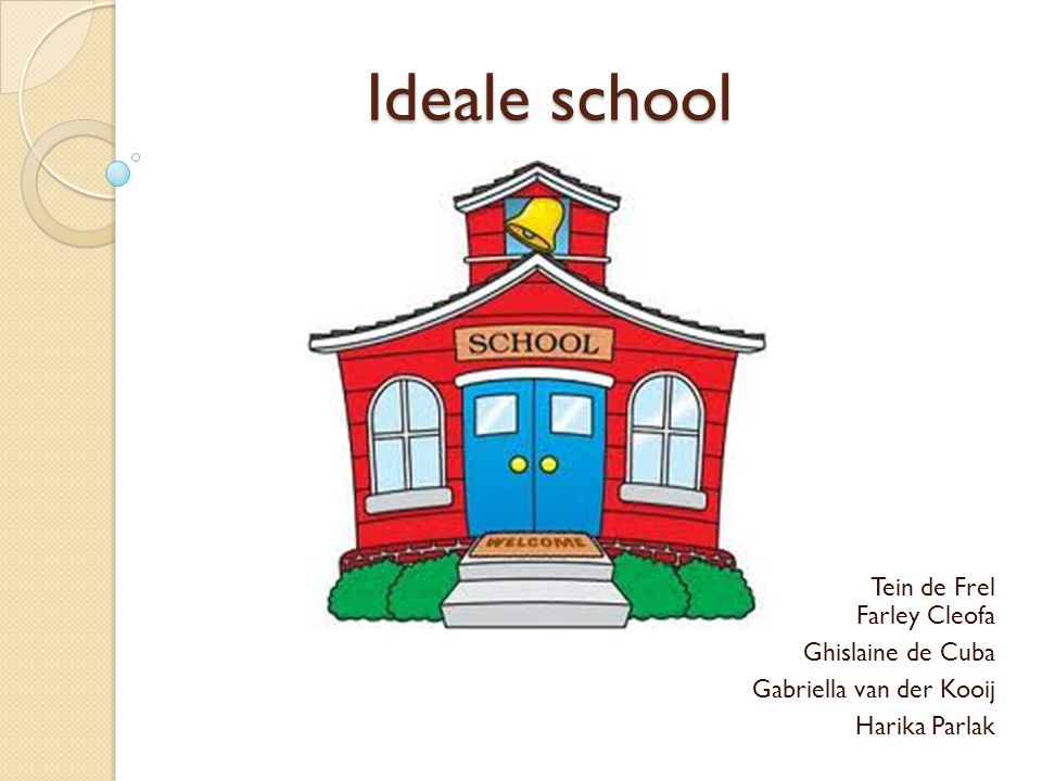 Ideale school Tein de Frel Farley Cleofa Ghislaine de Cuba