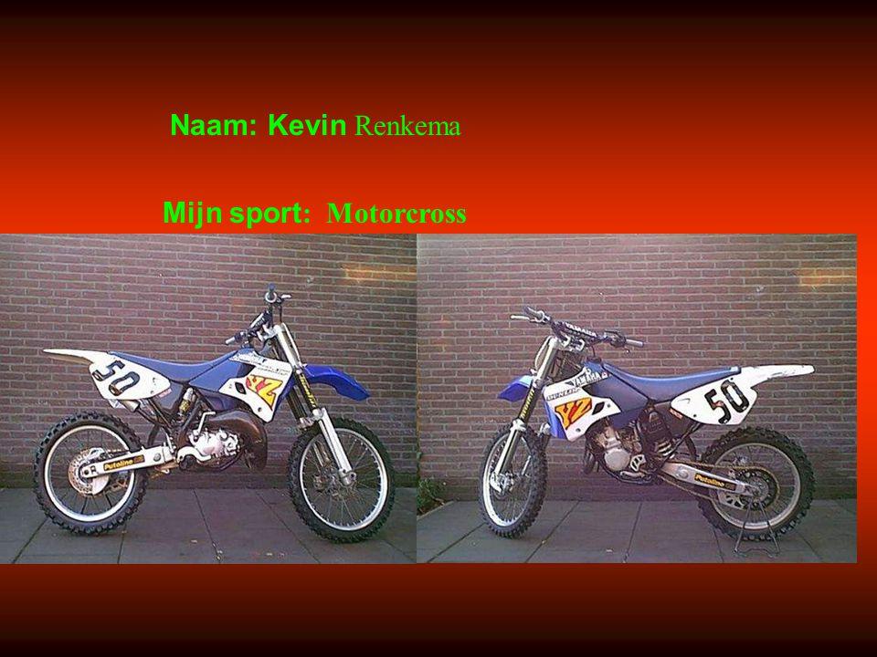 Mijn sport: Motorcross