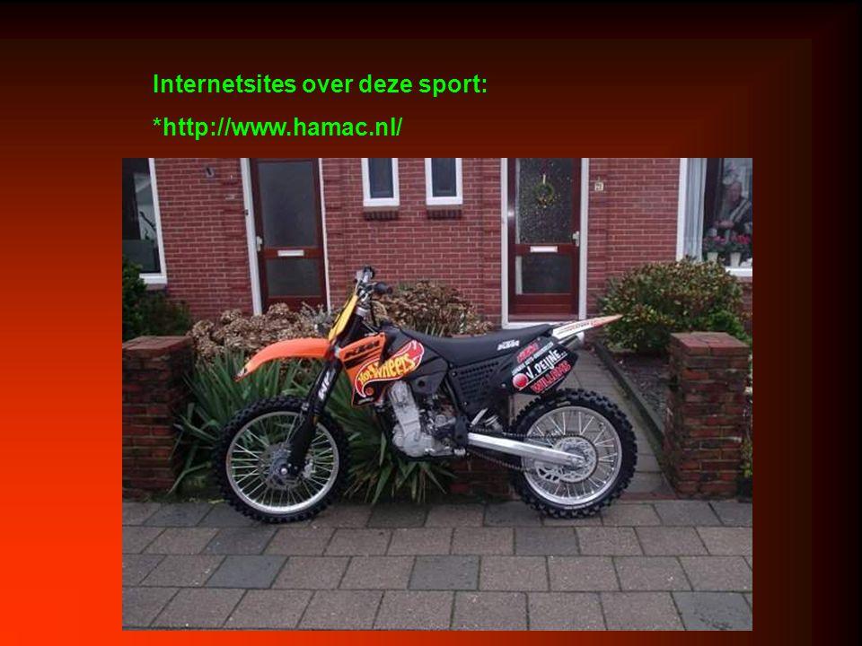 Internetsites over deze sport: *http://www.hamac.nl/