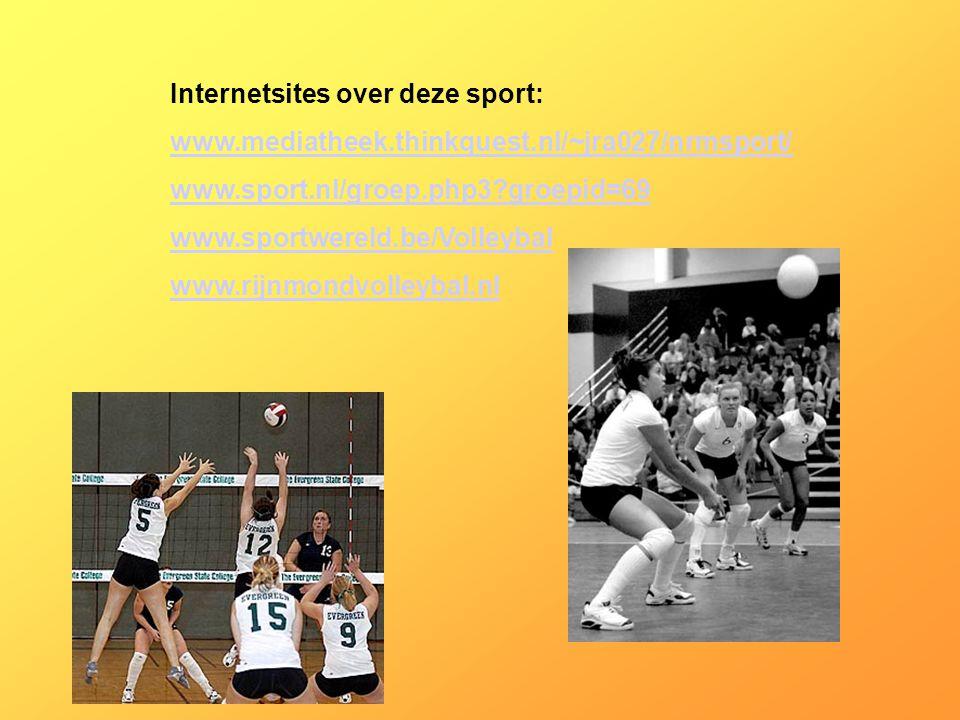 Internetsites over deze sport: