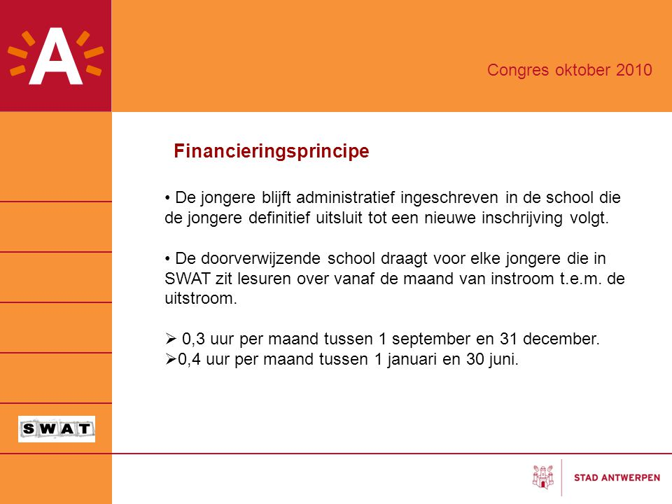 Financieringsprincipe
