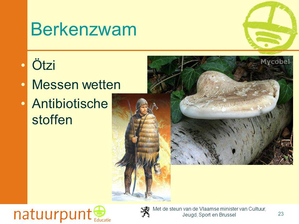 4-4-2017 Berkenzwam Ötzi Messen wetten Antibiotische stoffen