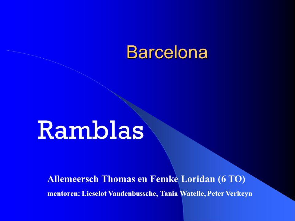 Ramblas Barcelona Allemeersch Thomas en Femke Loridan (6 TO)