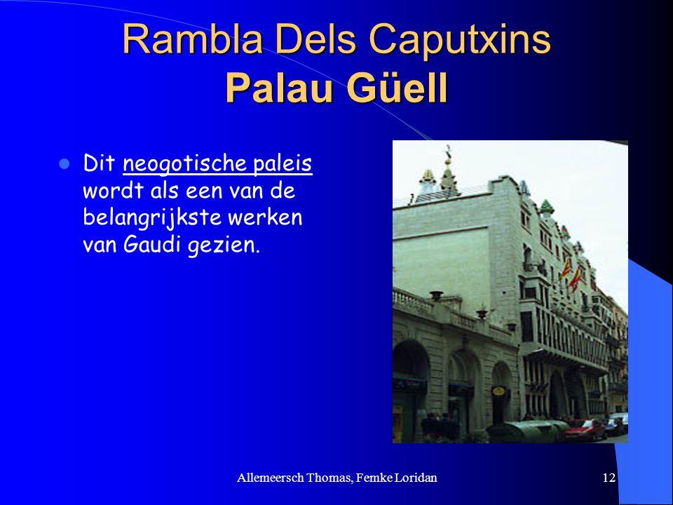 Rambla Dels Caputxins Palau Güell
