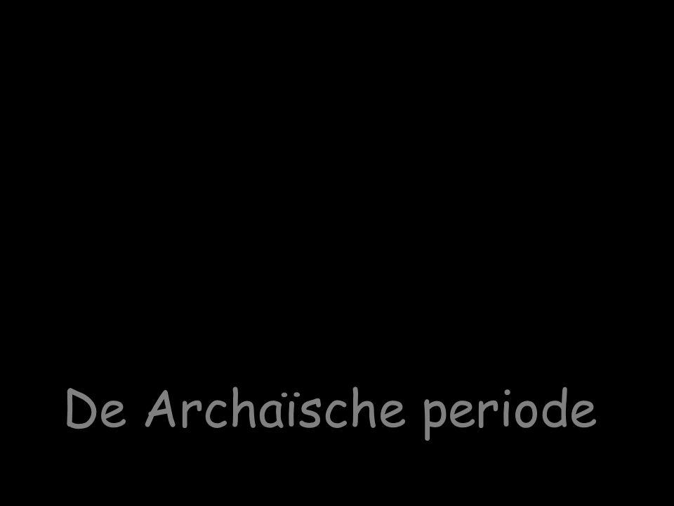 De Archaïsche periode