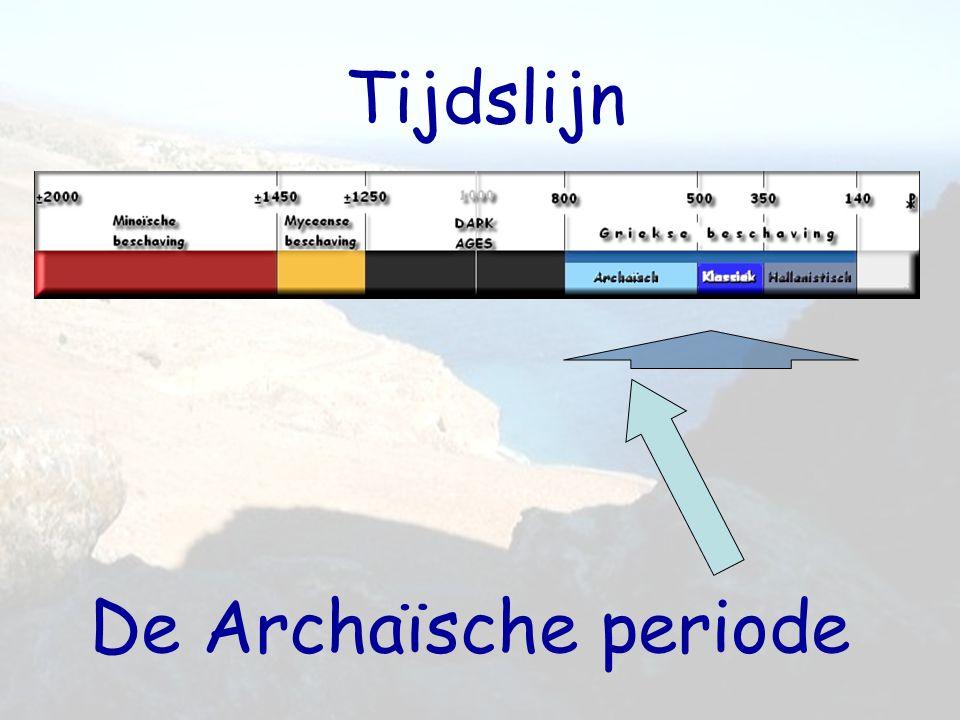 Tijdslijn De Archaïsche periode