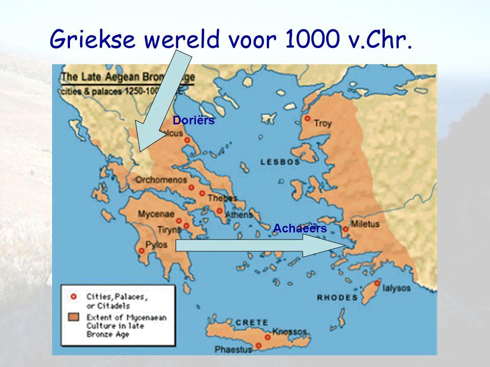 Griekse wereld voor 1000 v.Chr.