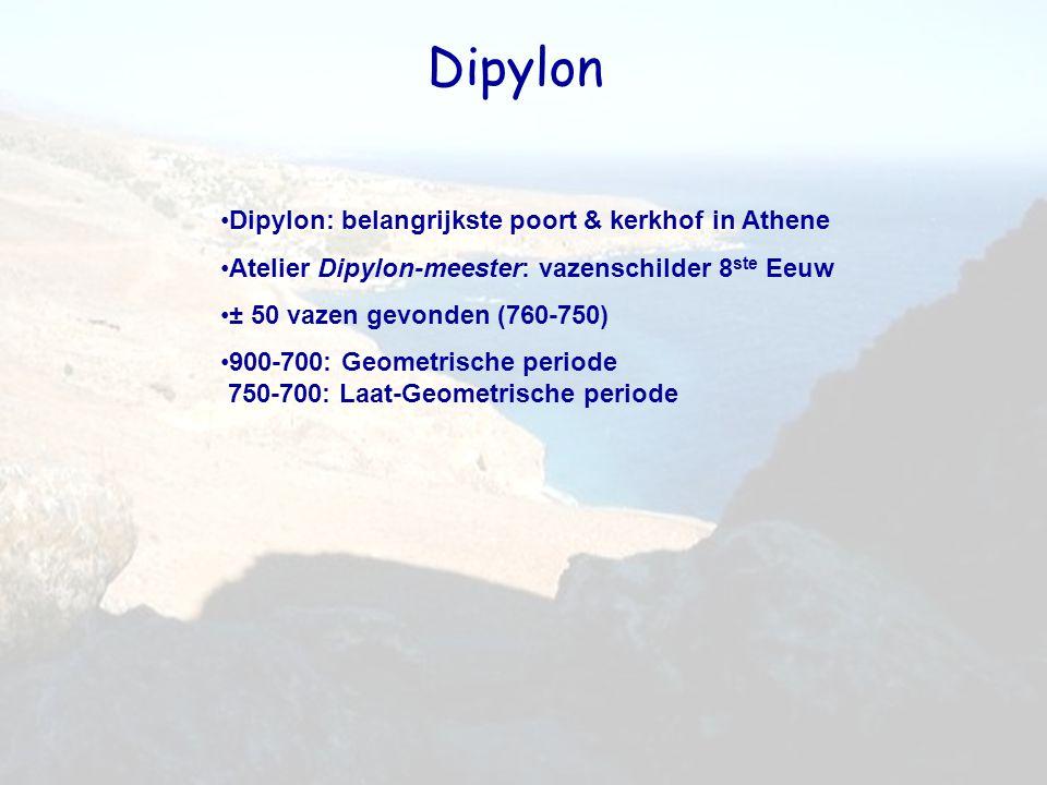 Dipylon Dipylon: belangrijkste poort & kerkhof in Athene