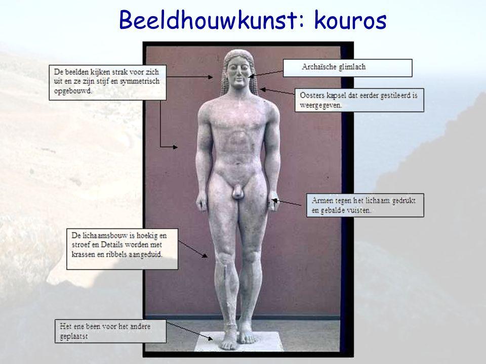 Beeldhouwkunst: kouros
