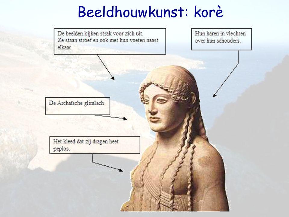Beeldhouwkunst: korè