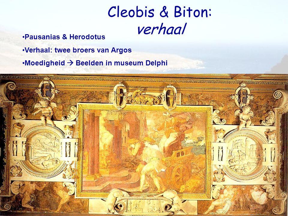 Cleobis & Biton: verhaal