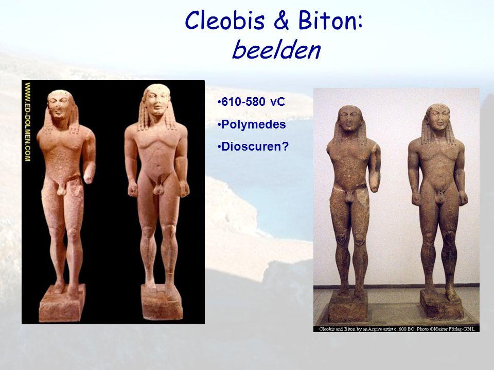 Cleobis & Biton: beelden