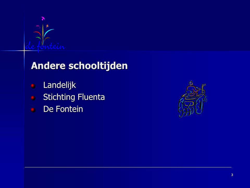 Landelijk Stichting Fluenta De Fontein