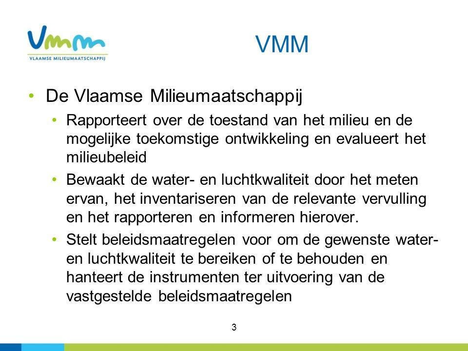 VMM De Vlaamse Milieumaatschappij