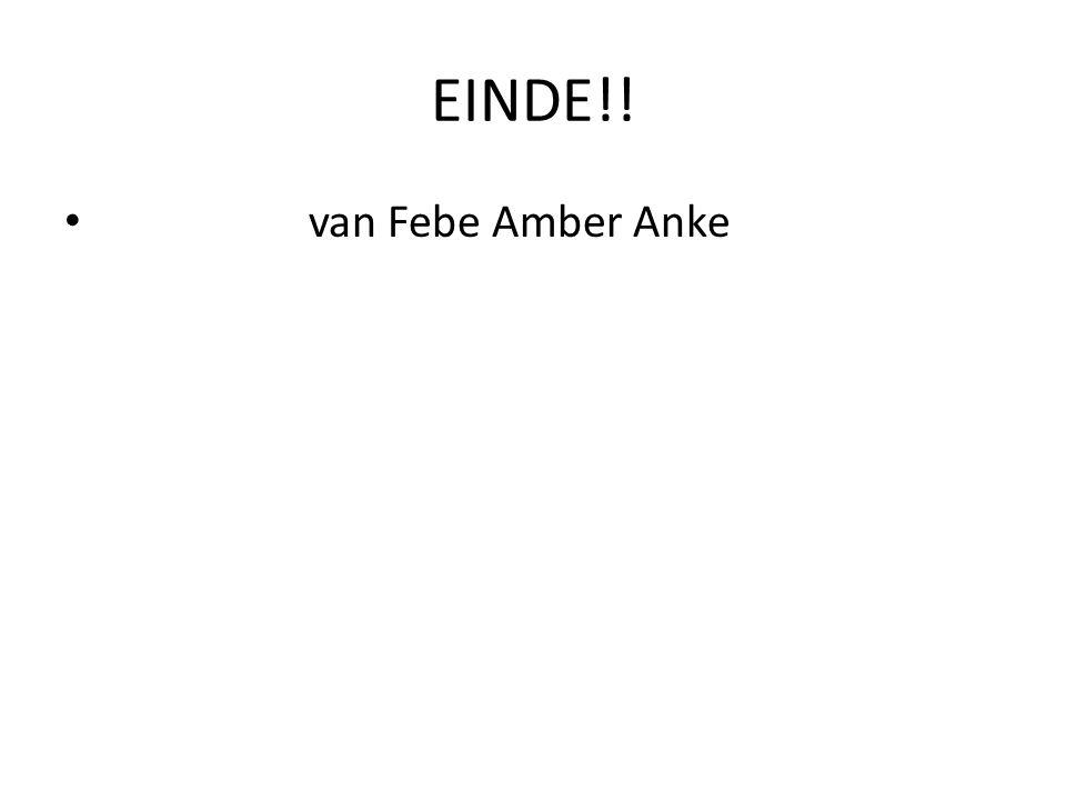 EINDE!! van Febe Amber Anke