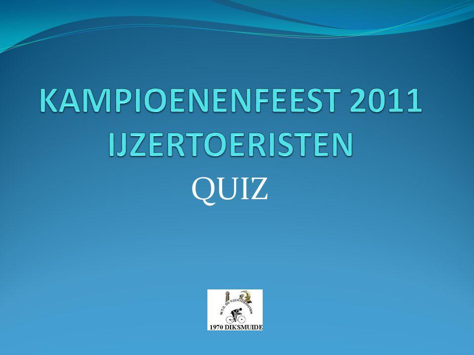 KAMPIOENENFEEST 2011 IJZERTOERISTEN