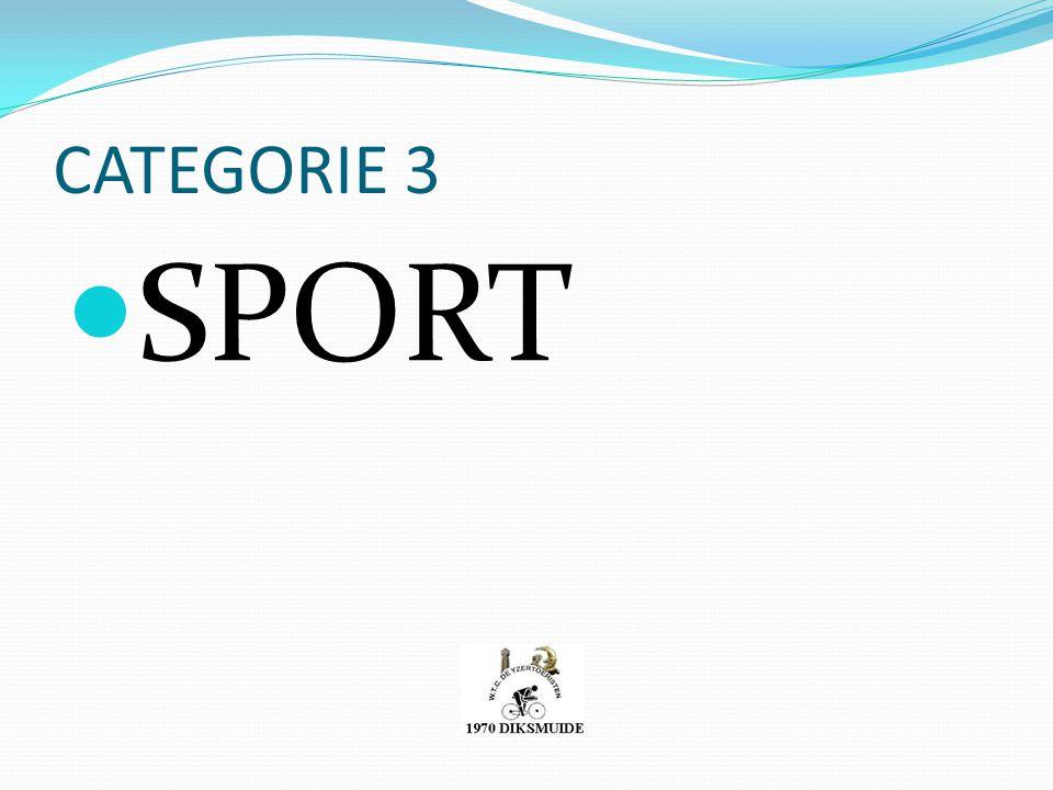 CATEGORIE 3 SPORT