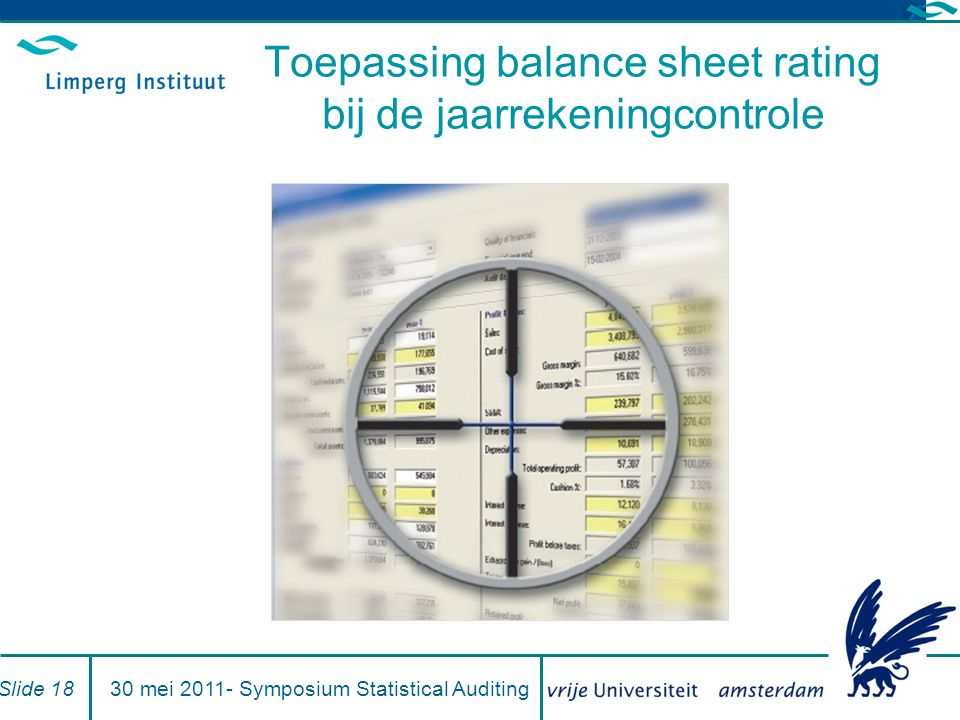 Toepassing balance sheet rating bij de jaarrekeningcontrole