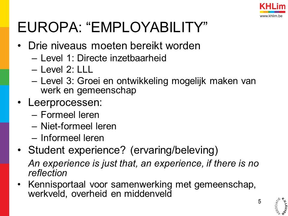 EUROPA: EMPLOYABILITY