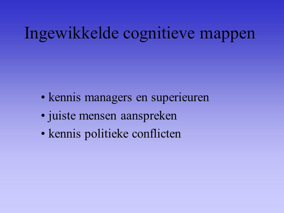 Ingewikkelde cognitieve mappen