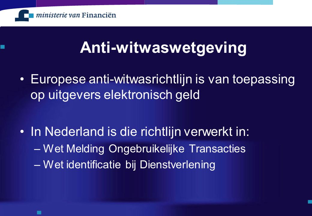 Anti-witwaswetgeving