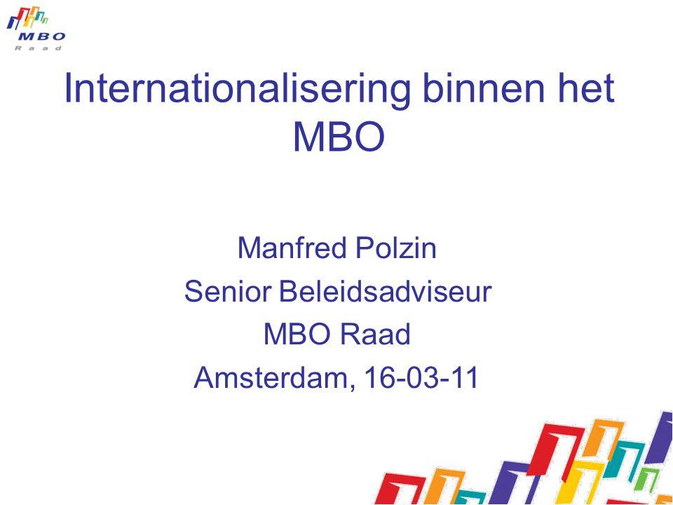 Internationalisering binnen het MBO
