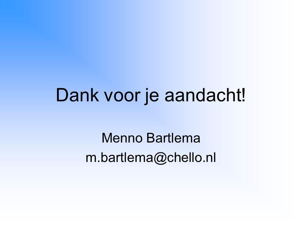 Menno Bartlema m.bartlema@chello.nl