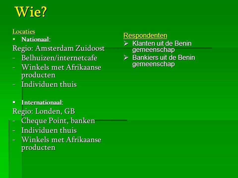 Wie Regio: Amsterdam Zuidoost Belhuizen/internetcafe