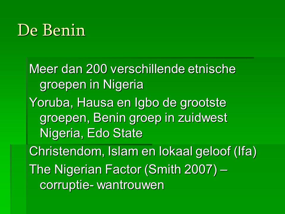 De Benin Meer dan 200 verschillende etnische groepen in Nigeria