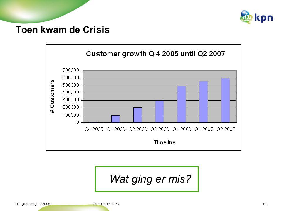 Wat ging er mis Toen kwam de Crisis