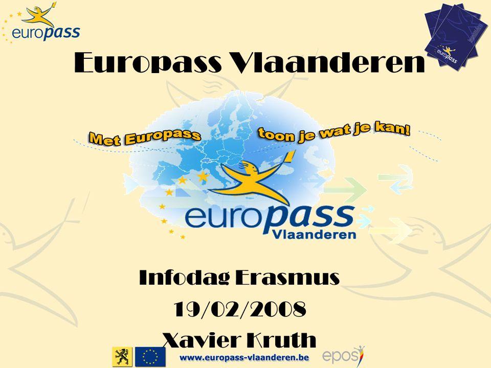 Infodag Erasmus 19/02/2008 Xavier Kruth
