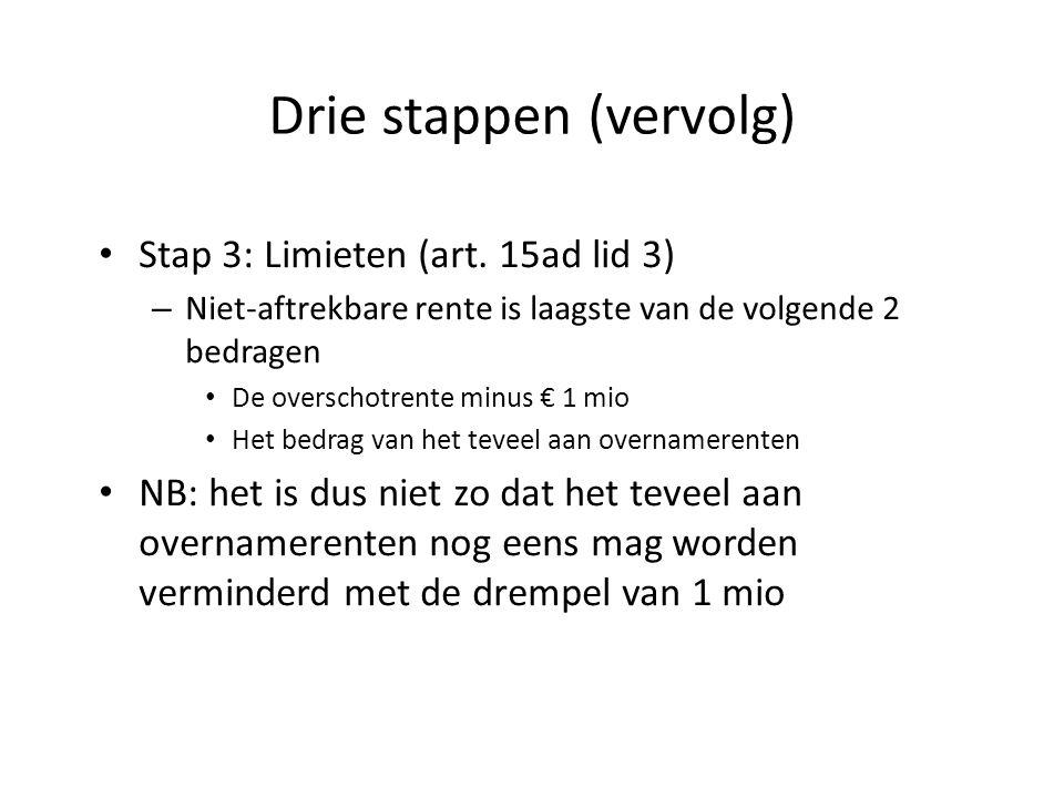 Drie stappen (vervolg)
