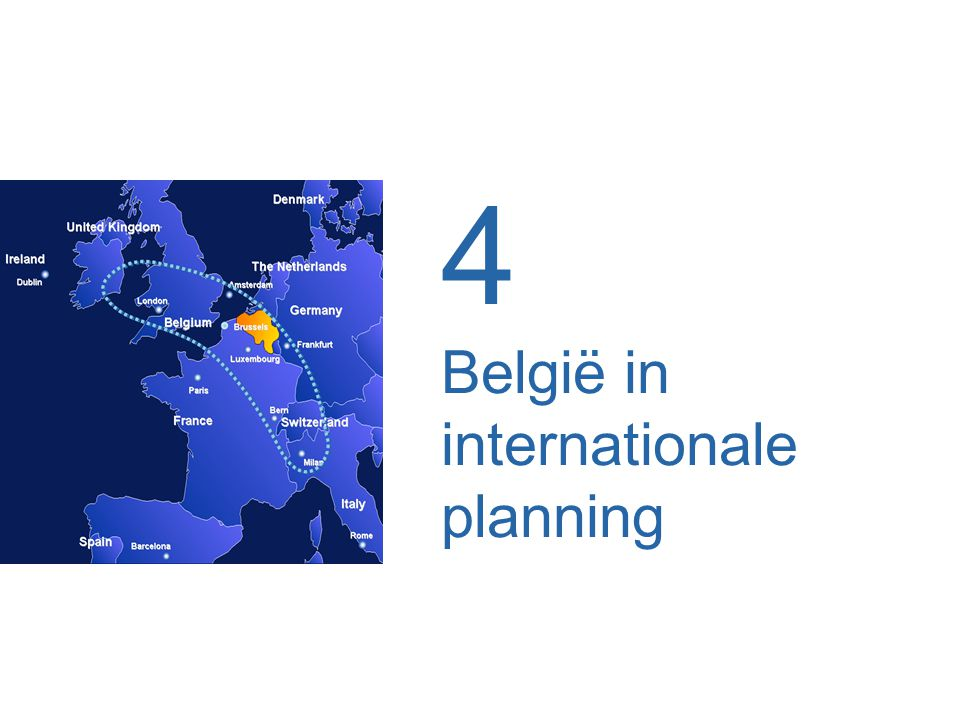 4 België in internationale planning