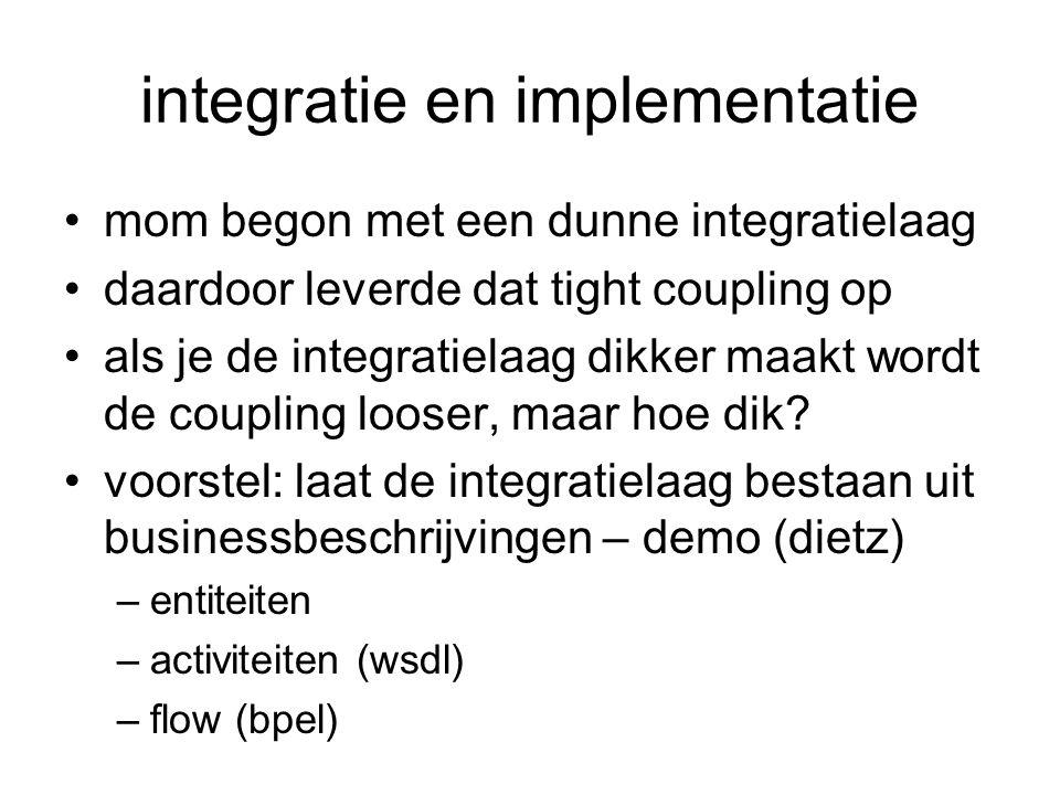 integratie en implementatie