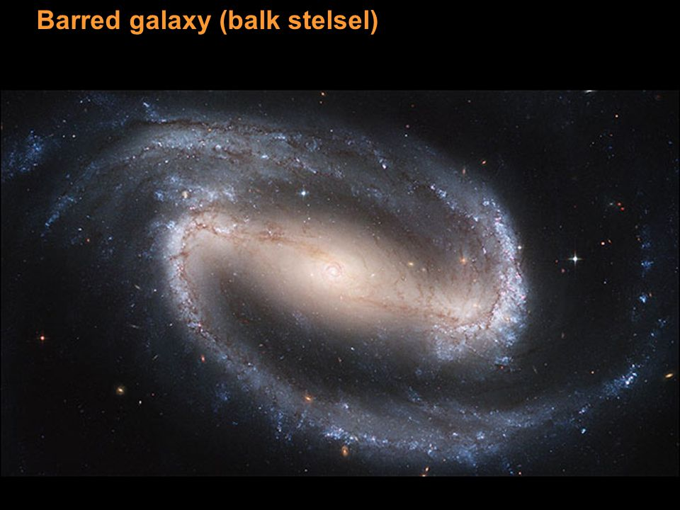 Barred galaxy (balk stelsel)