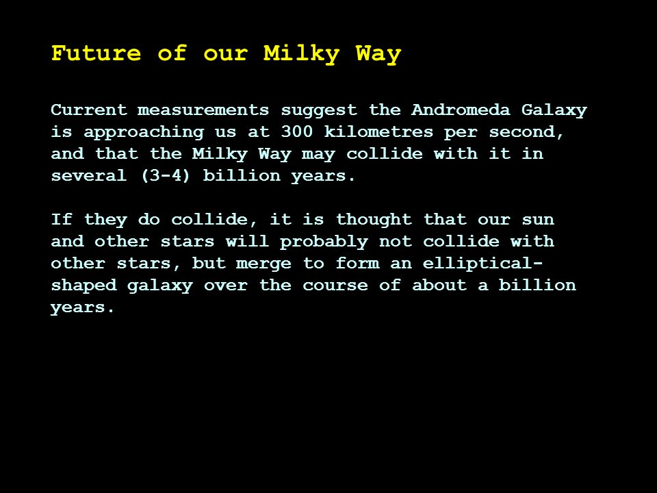 Future of our Milky Way