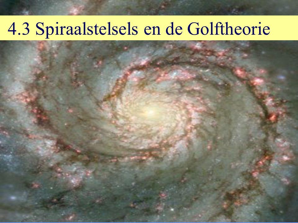 4.3 Spiraalstelsels en de Golftheorie