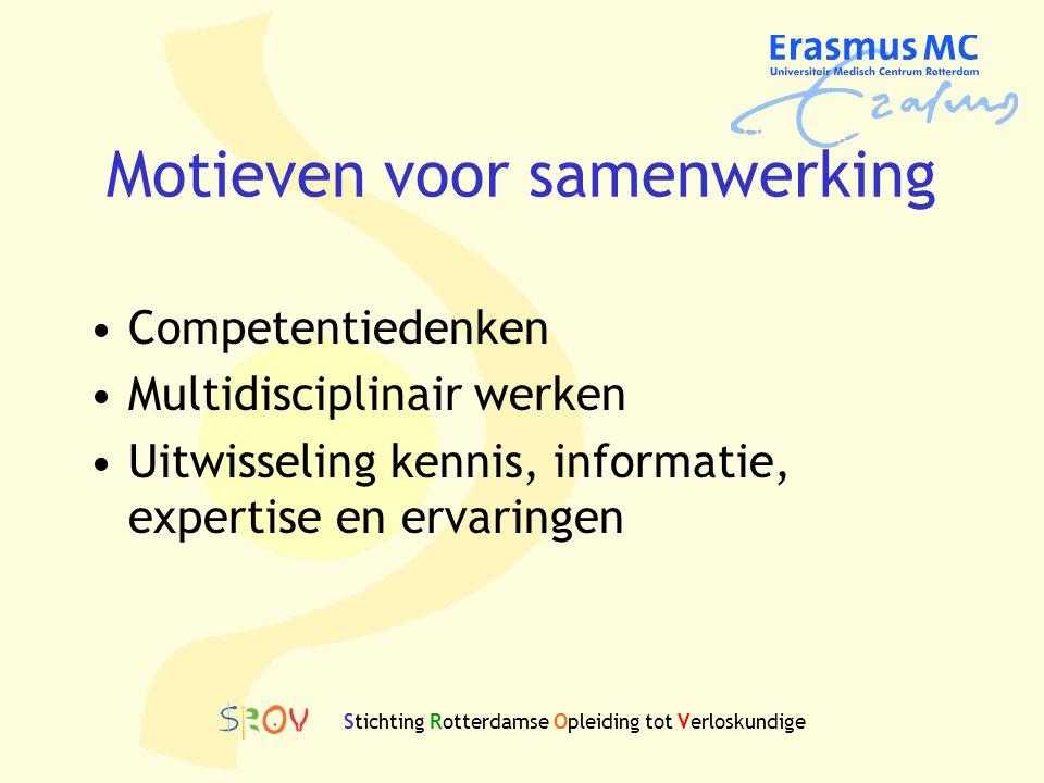 Motieven voor samenwerking