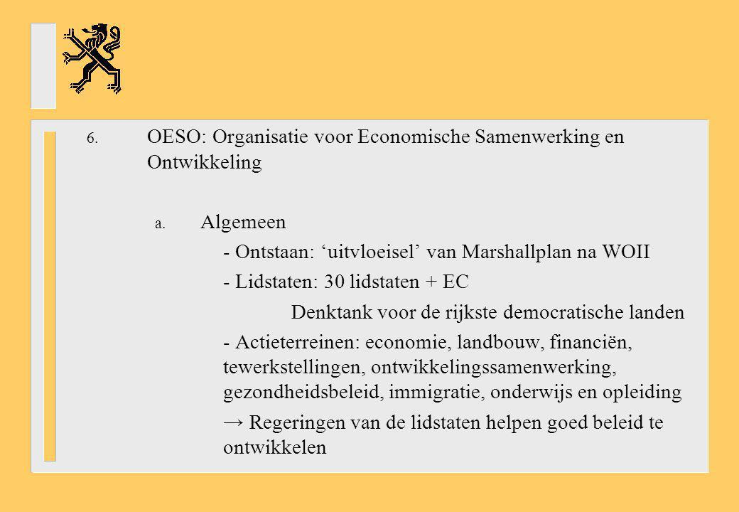 OESO: Organisatie voor Economische Samenwerking en Ontwikkeling