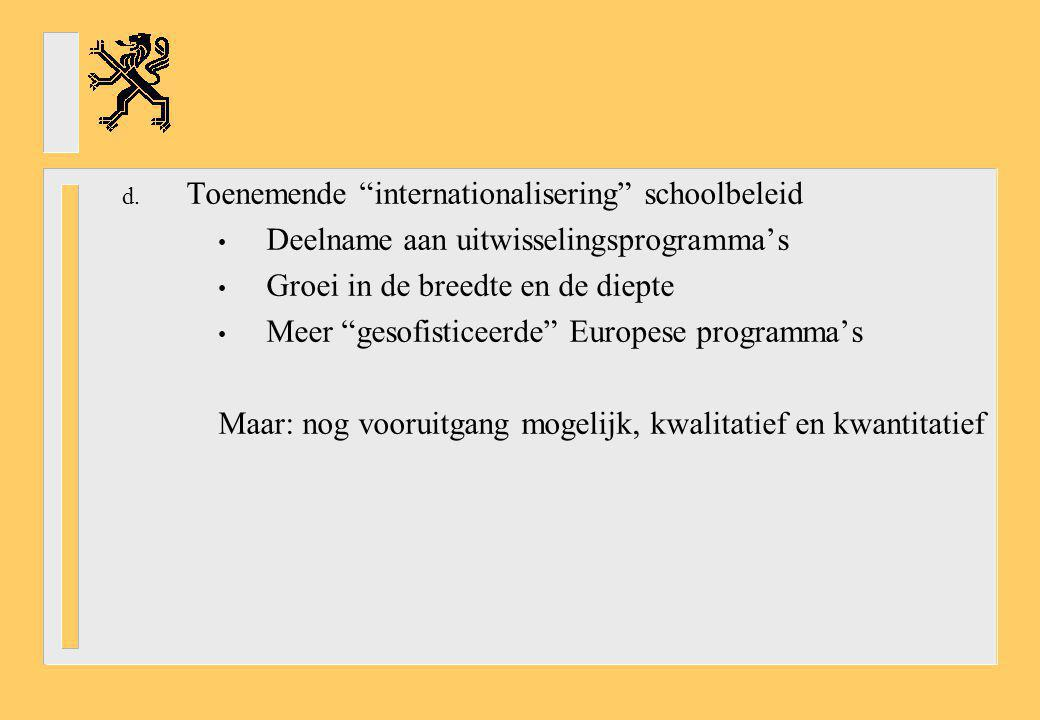 Toenemende internationalisering schoolbeleid